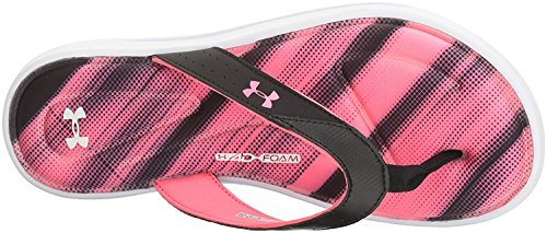 Under Armour Frauen Marbella Finisher V Thong Weiß / Schwarz / Vapor Green