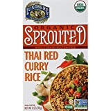 Lundberg Family Farms Organic Sprouted Rice, Thai Red Curry, 6 Ounce (Pack of 6)