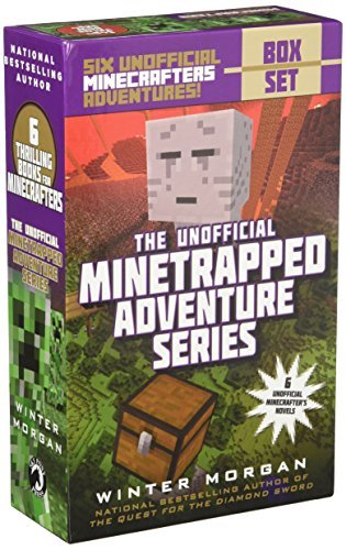 An Unofficial Minetrapped Adventure Series Box Set: Six Unofficial Minecrafters Adventures! by Sky Pony Press (Image #1)