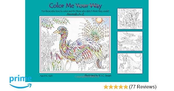 Color Me Your Way Pamela Smart 9781450781763 Amazon Com