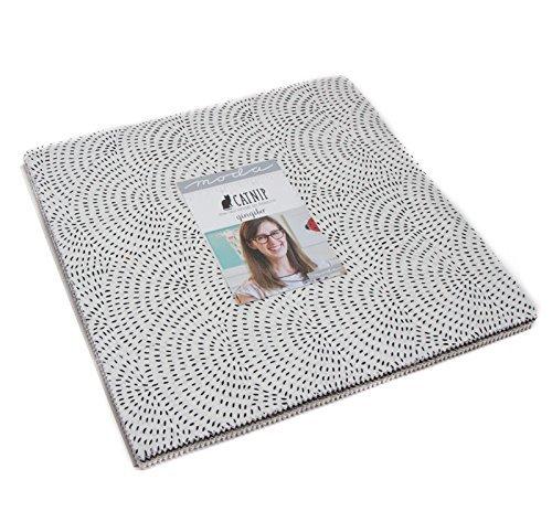 Swirl Fabric Quilt Squares - Catnip Layer Cake, 42 - 10