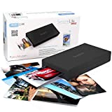 SereneLife Portable Instant Mobile Photo Printer - Wireless Color Picture Printing from Apple