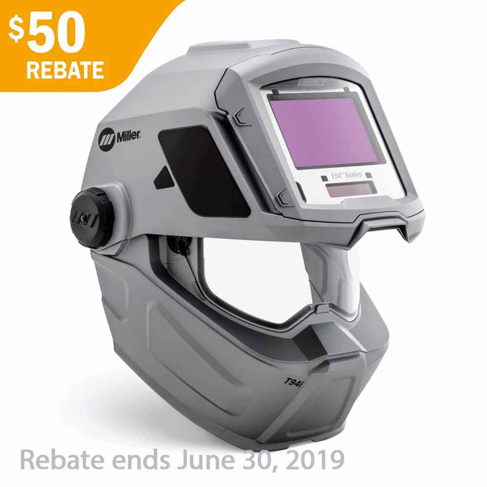 Welding Helmet, Auto-Darkening Type by Miller Electric (Image #1)