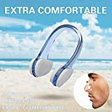 Rvnor 6 Sets Reusable Silicone Swimming Ear Plugs