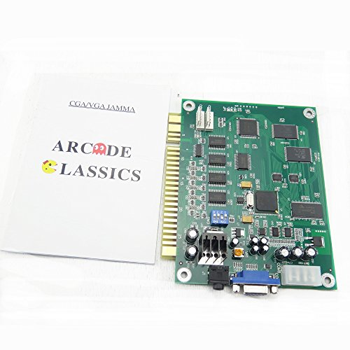 BLEE Classical Arcade Video Game 60 in 1 PCB Jamma Board for CGA VGA Output (Board 1)