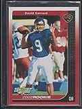 2002 Score David Garrard Jaguars Rookie Football Card #257