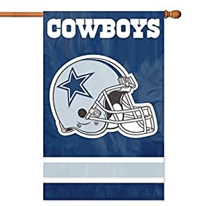 Cowboys Helmet Applique Banner AFDA By: Party Animal Power & Surge Adapters