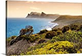 Canvas On Demand Philippe Hugonnard Premium Thick-Wrap Canvas Wall Art Print, 48'' x 32'', entitled 'Natural Landscape at Sunset'
