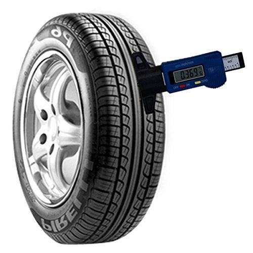Green Shappy 4 Pack Tyre Tread Depth Gauge Depth Measuring