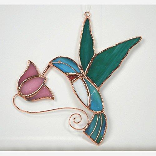 Gift Essentials Hummingbird with Flower Suncatcher by Gift Essentials
