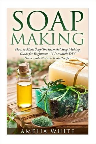 Soap Making (Organic Soap Recipes, Bath Bombs, Essential Oils): Amelia White, Jessica Virna: 9781512201963: Amazon.com: Books