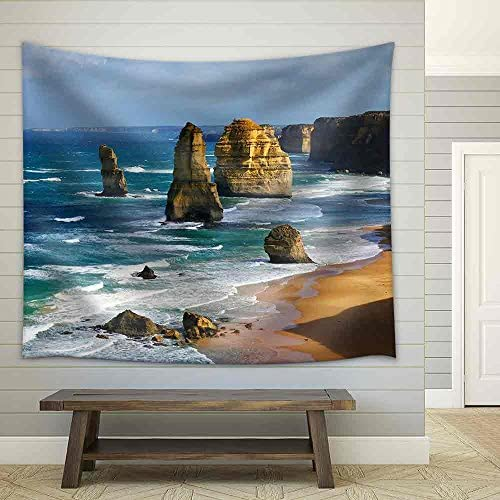 Dramatic Beautiful 12 Apostles in Australia Fabric Wall