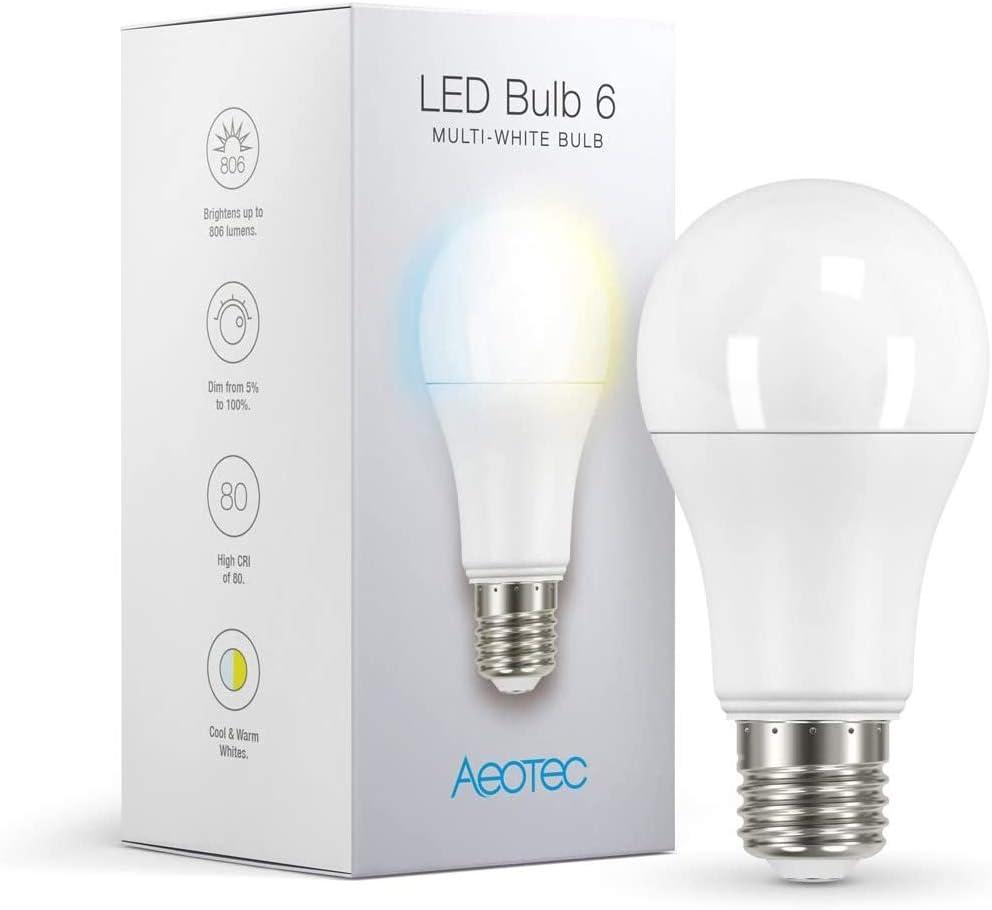 Aeotec LED Bulb 6 Multi-White - Z-Wave Plus