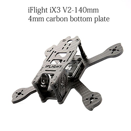 iFlight iX3 V2 140mm FPV Frame Racing Quadcopter Kit Carbon Fiber Suit for 1306 1407 1606 Brushless Motor HS1177 RunCam Swift Camera Review