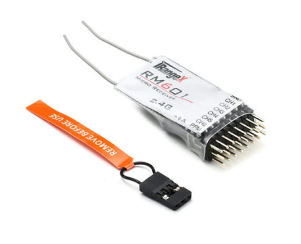 iRangeX DSMX DSM 2互換レシーバーRM601 2.4Ghz 6CH PPM B07N7PSPXV