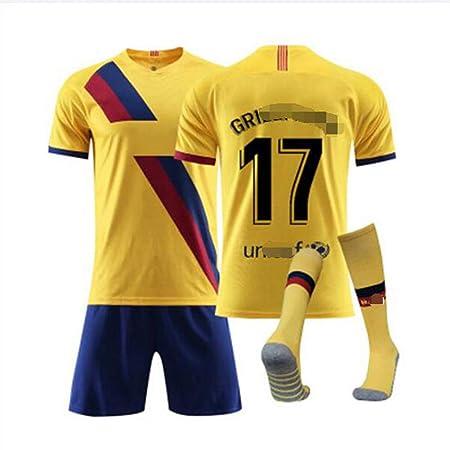 YDYL--LI Niño/Fútbol de Manga Corta Vestido para Adultos ...