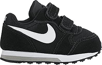 Nike MD Runner 2 (TDV), Zapatillas Unisex bebé, Negro (Black/White-Wolf Grey 001), 19.5 EU: Amazon.es: Zapatos y complementos
