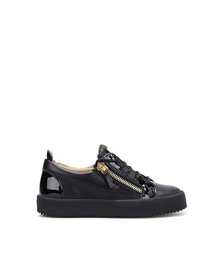 2999df025558d GIUSEPPE ZANOTTI DESIGN Women's Rw70000002 Black Leather Sneakers ...