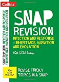 Collins Snap Revision – Infection and Response & Inheritance, Variation and Evolution: AQA GCSE Biology