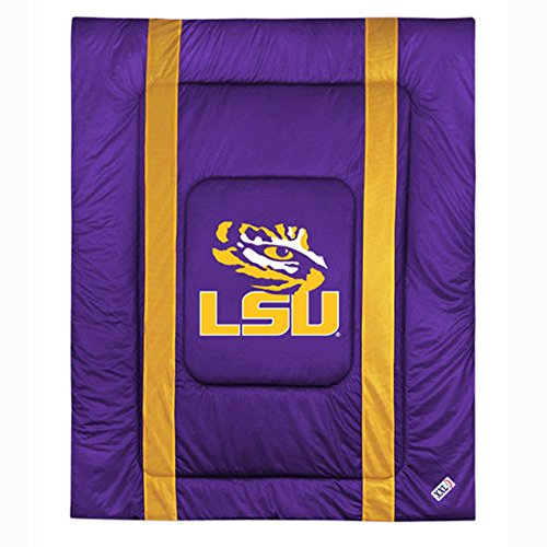 Lsu Tigers Full Comforter (NCAA Louisiana State - LSU Tigers - Comforter Set - Queen Bedding)