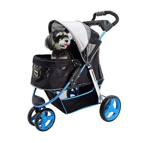 Axiba Cochecito para Mascotas Carro Perro Plegable Gato Coche Pet Supplies