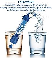 JETERY Filtro de Agua Personal para Kit de Supervivencia ...