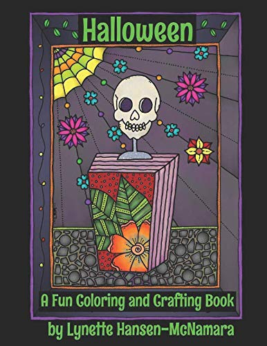 Halloween: A Fun Coloring and Crafting Book -