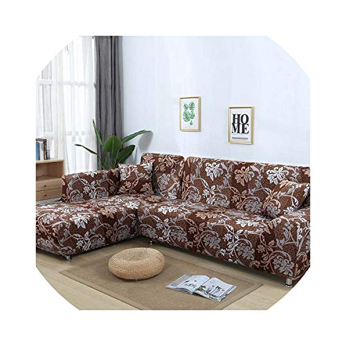 Slipcover Sofa Cover Tight Wrap All-Inclusive Stretch Sofa Covers for Living Room Washable Home Hotel Couch Cover Copridivano,Color 16,3Seater 190-230Cm (Pottery Barn Chaise Lounge)