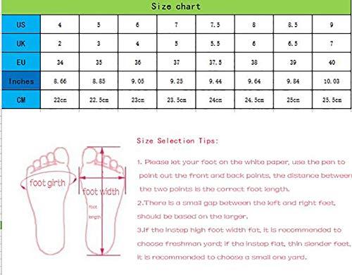 Ponerse 5CM Toe 6 Mujer Arraysa Zapatos de Qaicj tac Square wqYFU7H
