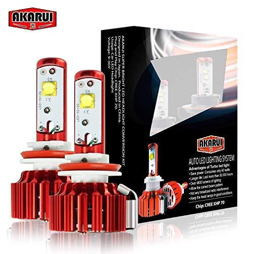 Akarui LED Headlight Bulbs Conversion Kits