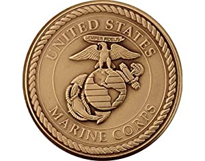 Coins of America U.S. Marines Challenge Coin by Coins of America