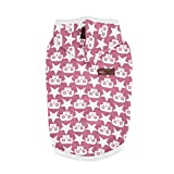 Puppia Sparrow Sleeveless Hoodie, Large, Wine