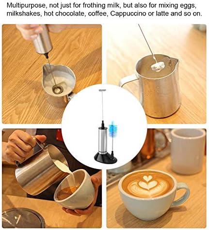 Elektrische Milchaufschäumer Hand Schneebesen Schneebesen Single Double Triple Head Foamer Mixer für Kaffee Latte Cappuccino Heiße Schokolade
