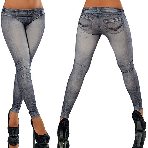 O2 COLLECTION [Shop Lev] Women Fashion Skinny Jeans Denim Printed Full Length - Fashion Definition Collection