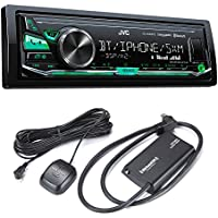 JVC KD-X340BTS Bluetooth In-Dash Digital Media Car Stereo w/ Pandora & iHeartRadio Support with Sirius XM Tuner