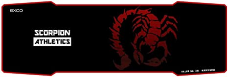 Extra large mouse pad Extended XL gaming mat Scorpion for Professional gamers