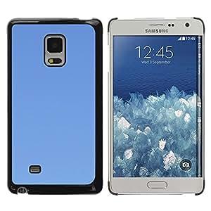 Be Good Phone Accessory // Dura Cáscara cubierta Protectora Caso Carcasa Funda de Protección para Samsung Galaxy Mega 5.8 9150 9152 // Simple Blue