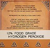 Food Grade Hydrogen Peroxide 12% by Modern Alchemy