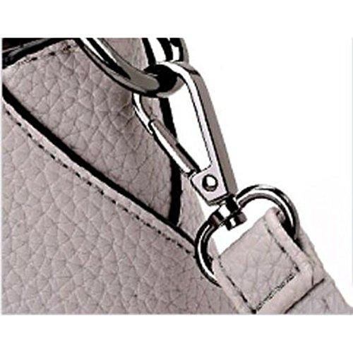 Bolso Moda Bolsos Gray Mujeres black Bolsa Para Bolsas De Compras onesize Señoras de Las Embragues Mochila Hombro Laidaye 4qdwpz4
