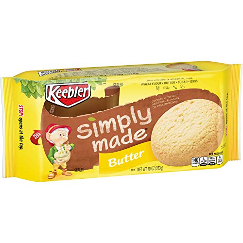 (Keebler Simply Made Cookies, Butter, 10 oz)