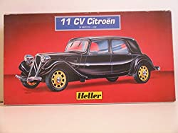 "Heller ""Citroen 11 CV L 1939 Automobile"" Plastic Model Kit by Heller"