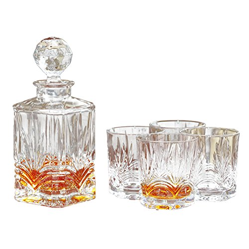 Galway Crystal Whiskey Glasses