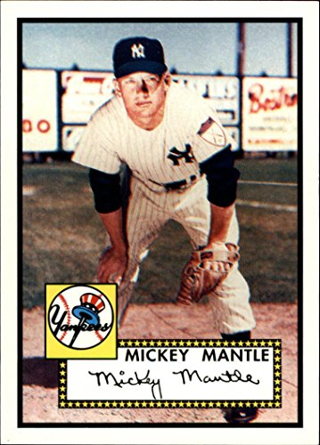 2006 Topps Mickey Mantle  25 Rookie Of The Week Baseball Card   Mint Condition  Shipped In Protective Screwdown Case
