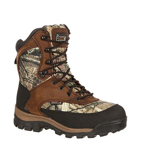 """Rocky Men's 8"""" Core Waterproof Boots,Multicoloured,9.5 W"""