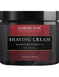 Majestic Pure Shaving Cream, 4 fl oz
