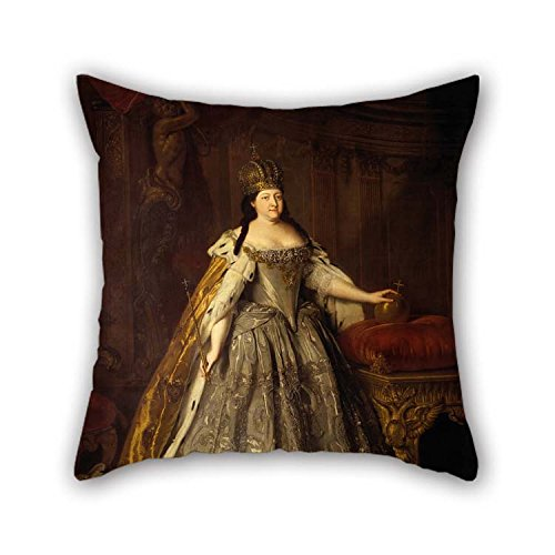 beeyoo Pillow Shams of Oil Painting Louis Caravaque - ????????? ???????????? ?????? ??????????? for Her Deck Chair Coffee House Floor Kids Saloon 16 X 16 inches / 40 by 40 cm(2 Sides)