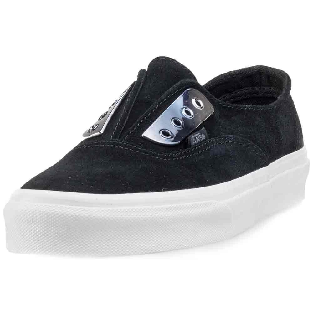 0a04c41fc579 Vans Authentic Gore Ladies Slip On Black Metal - 3 UK  Amazon.co.uk  Shoes    Bags