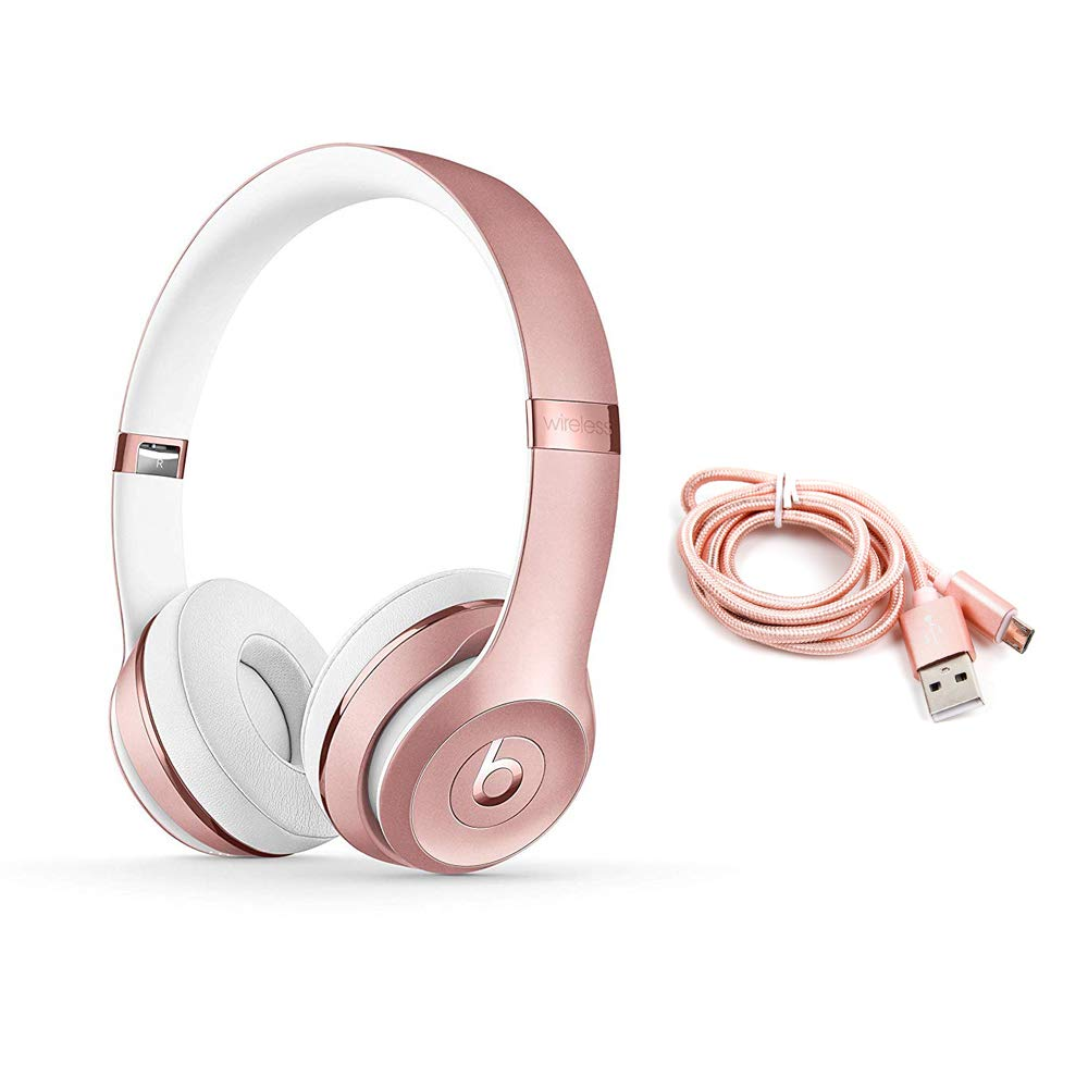 Beats Solo3 Wireless On Ear Headphones Rose Gold Micro Usb Cables Buy Online In Gambia Bornku Products In Gambia See Prices Reviews And Free Delivery Over 3 500 D Desertcart