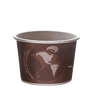 Eco-Products - Evolution World 24% Recycled Content Food Containers - 16oz. Container - EP-BRSC16-EW (Case 500)
