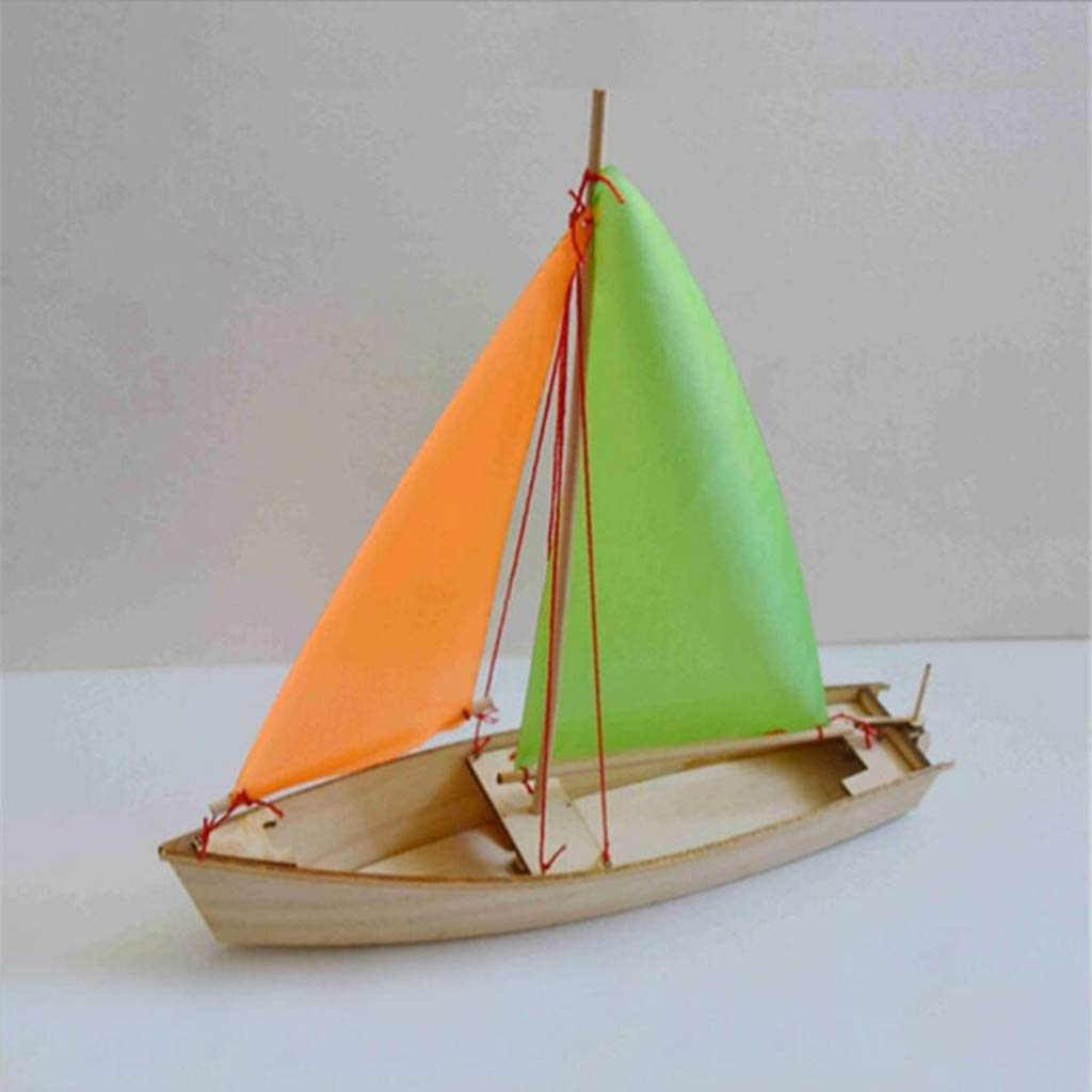 DIY Schiffsmodell Bausatz Holz Segelboot 1:30 Skala Bildungs Spielzeug Gesc I9D6